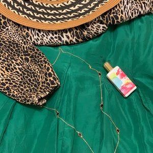 BANANA REPUBLIC MINI Green skirt